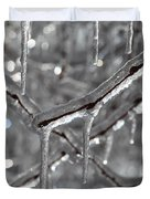 Icy Glitters Duvet Cover