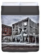 Icy Remains - After The Fire Duvet Cover