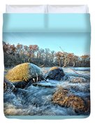 Icy Waters 2 Duvet Cover
