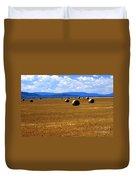 Idaho Hay Duvet Cover