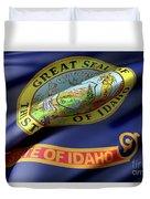 Idaho State Flag Duvet Cover
