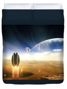 Idea Taken From Star Trek. The Project Duvet Cover by Tobias Roetsch