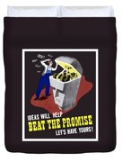 Ideas Will Help Beat The Promise Duvet Cover