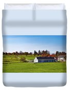 Idyllic Autumn Farm Duvet Cover