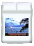 Idyllic Paradise In Bocas Del Toro, Panama II Duvet Cover