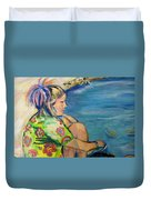 If Fishes Were Wishes Duvet Cover