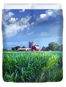 If Seasons All Were Summers Duvet Cover