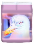 If The Bird Is A Predator Put It In Jail  Duvet Cover