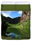 If You Seek Beauty In A River  Duvet Cover
