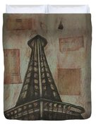 Iffel Tower Duvet Cover