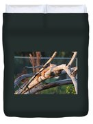 Igauna On A Stick Duvet Cover