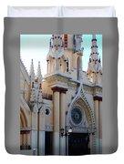 Iglesia De Caracas Duvet Cover