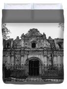 Iglesia San Jose El Viejo - Antigua Guatemala Bnw Duvet Cover