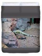 Iguana Iguana Duvet Cover