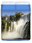 Iguazu Falls Duvet Cover
