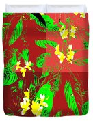 Ikebana Duvet Cover by Eikoni Images