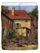 Il Carretto Duvet Cover by Guido Borelli