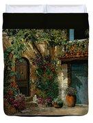 Il Giardino Francese Duvet Cover
