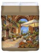 Il Mercato Del Lago Duvet Cover