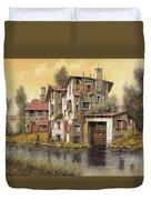 Il Mulino Giallo Duvet Cover