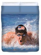 Il Nuotatore Duvet Cover