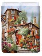 Il Villaggio Duvet Cover