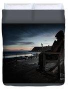 Freddie Gilfroy - Scarborough North Bay Duvet Cover
