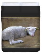 I'll Soon Be Counting Sleeps Duvet Cover