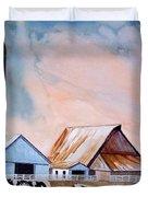 Illinois Farm Duvet Cover