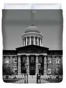 Illinois Old State Capital Building Duvet Cover