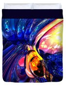 Illuminate Abstract  Duvet Cover