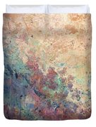 Illuminated Valley I Diptych Duvet Cover