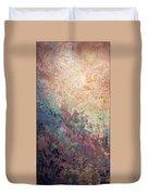 Illuminated Valley I Diptych Duvet Cover