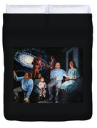 Illumination Beyond Ursa Major Duvet Cover