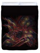 Illusion And Chance - Fractal Art Duvet Cover