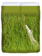 Illusions In The Grass Duvet Cover