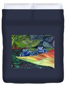I'm In Love With A Big Blue Frog Duvet Cover