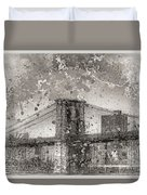 Im Selling The Brooklyn Bridge Or At Least A Photo Of It  Duvet Cover