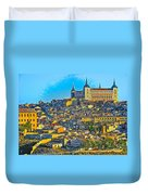 Image Of Portugal From The Road Duvet Cover
