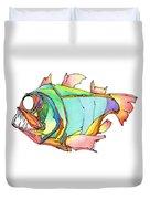 Imaginary Fish #1 Duvet Cover