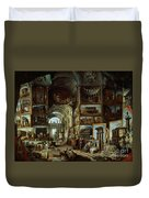 Imaginary Gallery Of Views Of Ancient Rome Duvet Cover