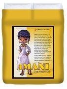 Imani, The Visionary Duvet Cover