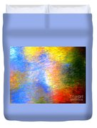 Imerging From Darkness To Lights Duvet Cover