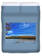 Img_1799.jpg Portage Lake Maine Duvet Cover