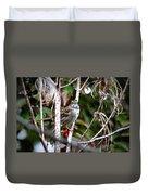 Img_6624-002 - White-throated Sparrow Duvet Cover