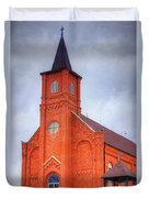 Immaculate Conception Catholic Church Duvet Cover