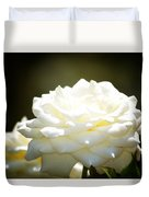 Immaculate Rose Duvet Cover