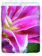 Immerse Yourself - Paint Duvet Cover