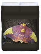 Imperial Moth Duvet Cover