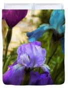 Impossible Irises Duvet Cover